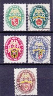 Duitsland - DEUTSCHES REICH - 1929 - Y&T NrS. 421 Et/en 425  - Gestempeld/oblit./used - ° - Allemagne