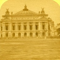 France Paris Opera Ancienne Stereo Photo 1875 - Stereoscopic