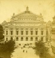 France Paris Opera Ancienne NC Stereo Photo 1875 - Stereoscopic