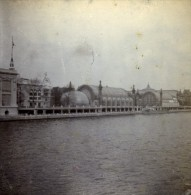 France Paris Exposition Universelle Palais De L'Horticulture Ancienne Stereo Photo Stereoscope 1900 - Stereoscopic