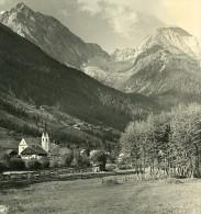 Italie Alpes Tyrol Antholz Mittertal Ancienne Stereo Photo Stereoscope NPG 1900 - Stereoscopic