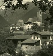 Italie Alpes Trentin Merano Mausolée De Jean-Baptiste D'Autriche Ancienne Stereo Photo NPG 1900 - Stereoscopic