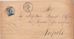 Giovinazzo. 1910. Annullo Grande Cerchio. - 1900-44 Victor Emmanuel III