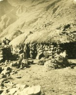 Bolivie Cordillere Des Andes Habitat Traditionnel Ancienne Stereo Photo Stereoscope NPG 1900 - Stereoscopic