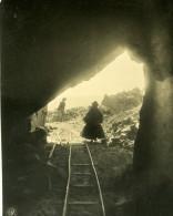Bolivie Cordillere Des Andes Entree Mine D'Etain Ancienne Stereo Photo Stereoscope NPG 1900 - Photos Stéréoscopiques