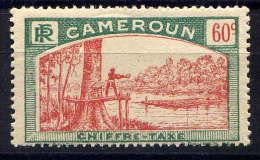 CAMEROUN - N° T10* - ABATTAGE D´UN ACAJOU - Unused Stamps