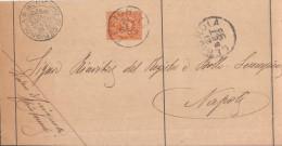 Cerignola. 1893. Annullogrande Cerchio - 1878-00 Humberto I