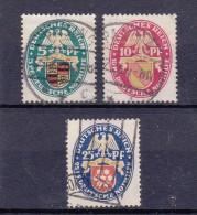 Duitsland - DEUTSCHES REICH - 1926- Y&T Nrs. 390, 391 Et/en 392  - Gestempeld/oblit./used - ° - Gebraucht