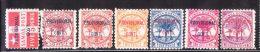 Samoa 1899 Overprinted Provisional Government 7v Mint/MNG - Samoa
