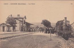 GOURIN : La Gare - Gares - Avec Trains