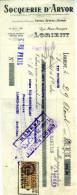 LORIENT  Traite 1928 SOQUERIE D'AVOR - 1900 – 1949