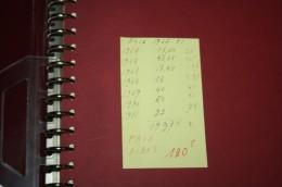 collection de timbres neuf sans charniere belgique de 1965 a 71 quelques manquant ds album