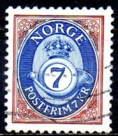 NORWAY 2000  Posthorn  - 7k. - Multicoloured   FU - Norwegen