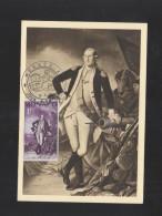 Monaco CM 1956 George Washington - Maximumkarten (MC)