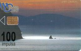 MONTENEGRO PHONECARD(CHIP) COAST OF MONTENEGRO -8/01 -USED(1)