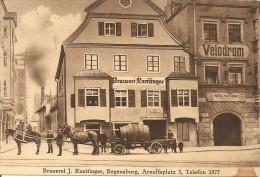 1923 - REGENSBURG, Brauerei J.Kneitinger,  Gute Zustand, 2 Scans - Regensburg