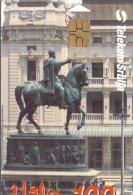 SERBIA PHONECARD(CHIP) MIHAILO OBRENOVIAE 2 -40000pcs-10/00 -USED(1)