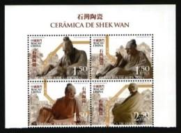 2007 Macau/Macao Stamps-Shek Wan Ceramics Scholar Luo Han Buddha Famous - Porcelain