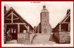 14 LA FORET-AUVRAY - L'église Et Les Halles - Other Municipalities