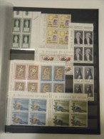Italia - Lotto Di 84 Quartine Nuove - 9 Foto - Meno Di 0,03 A Francobollo! - Lots & Kiloware (mixtures) - Max. 999 Stamps