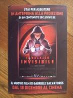 Il Ragazzo Invisibile Movie Film Carte Postale - Unclassified