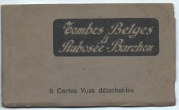 Tombes Belges à Rabosée Barchon Carnet 6 Cartes Guerre 14-18 - Blégny