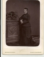 CHARLEROI  BEVIERRE MULART PUISSANT MARIE D'ERGIMONT  5.12.1878    Format : 15.5 Cm / 10.5 Cm - Anciennes (Av. 1900)