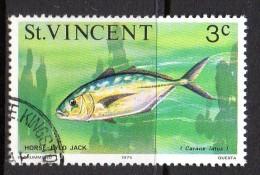 St Vincent 1975 Marine Life - 3c Value Used - St.Vincent (...-1979)