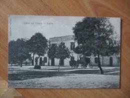 A2  TUNISIE - GABES - Hôtel De L'Oasis   ANIMEE ATTELAGE - Tunisie