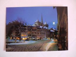 Postcard Postal Switzerland Genève La Place Du Bourg-de-Four Et La Cathédrale Saint-Pierre - GE Ginevra