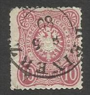 ALLEMAGNE , Empire , 10 P , 1875 - 1877 , N° Y&T 32 - Deutschland