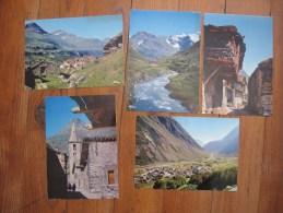 En Maurienne                           Lot De 5 Cartes De Bonneval Sur Arc  ( Savoie ) - 5 - 99 Postcards