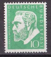 bm_ Deutschland Bund - Mi.Nr. 209 - postfrisch MNH
