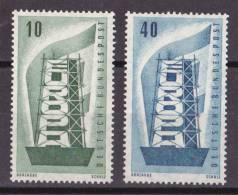 bm_ Bund - Mi.Nr. 241 - 242 - postfrisch MNH - Europa CEPT