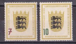 bm_  Bund - Mi.Nr. 212 - 213 - postfrisch MNH