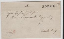 Braun036/ BRAUNSCHWEIG -  Zorge 1830, Klarer Abschlag - Brunswick