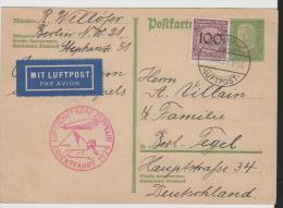 W-L032/ S 231 A, Orientfahrt 1929, Luftschidd Graf Zeppelin Ex Berlin-Tegel - Briefe U. Dokumente
