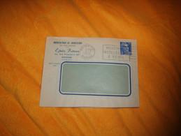 ENVELOPPE UNIQUEMENT DE 1953. / EJNES FRERES MANUFACTURE DE CONFECTION. / REIMS./ CACHET + FLAMME + TIMBRE. - Postmark Collection (Covers)