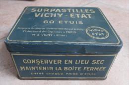 ANCIENNE BOITE  -  SURPASTILLES  -  VICHY ETAT   - 60 ETUIS - Boxes