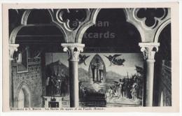 Reppublica Di San Marino, San Marino Che Apare Al Suo Popoplo - Church Fresco - Chiesa -cartolina C1910s Postcard [8375] - San Marino