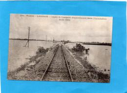 INDOCHINE-TONKIN-inondations Ligne De Langson  Aout  1904 -édition  Union Cle De L'indochine - Vietnam