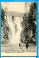 OV1.1162, Cascade De La Source Bleue, Animée Circulée 1905 - Pontarlier