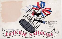Loterie Nationale - Werbepostkarten