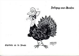 CP -. JALIGNY SUR BESBRE - CAPITALE DE LA DINDE - GEORGES LIBAULT - RICARD - France