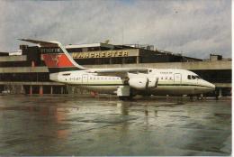 Flughafen Manchester Airport Avion Aircraft Aerodromo Flugplatz Aiplane Manx Airlines BAe G-OJET Aeroport Jets Aerodrome - Aerodrome