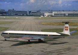 Flughafen BEA British European DH Comet 4 Avion Aircraft Aerodromo Flugplatz Aiplane Airlines Aeroport Jets Aerodrome - Aerodrome