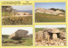 LOCMARIAQUER Cité Mégalitique - Carte Multivues - Locmariaquer