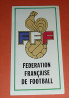 Image Autocollante Autocollant Figurine PANINI, Football FOOT 77, 1977, FFF Fédération Française N°3 RTL - Panini