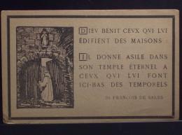 Reédification De L\´ABBAYE N.-D. D\´ORVAL Luxembourg St. François De Sales - Imágenes Religiosas