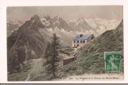 ** 74 -  CHAMONIX Mont-Blanc - La Flégère Et La Chaîne Du Mt Blanc - Refuge, Chevaux - Avant Le Téléphérique? - 1911 - - Chamonix-Mont-Blanc